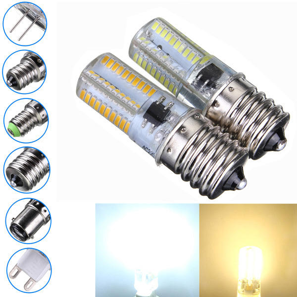Dimbaar E17 3W Wit / Warm Wit 3014SMD LED Bulb Silicone 110-120V