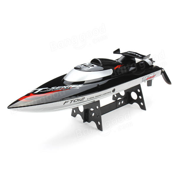 FT012 Atualizado FT009 2.4G Brushless RC Racing Boat