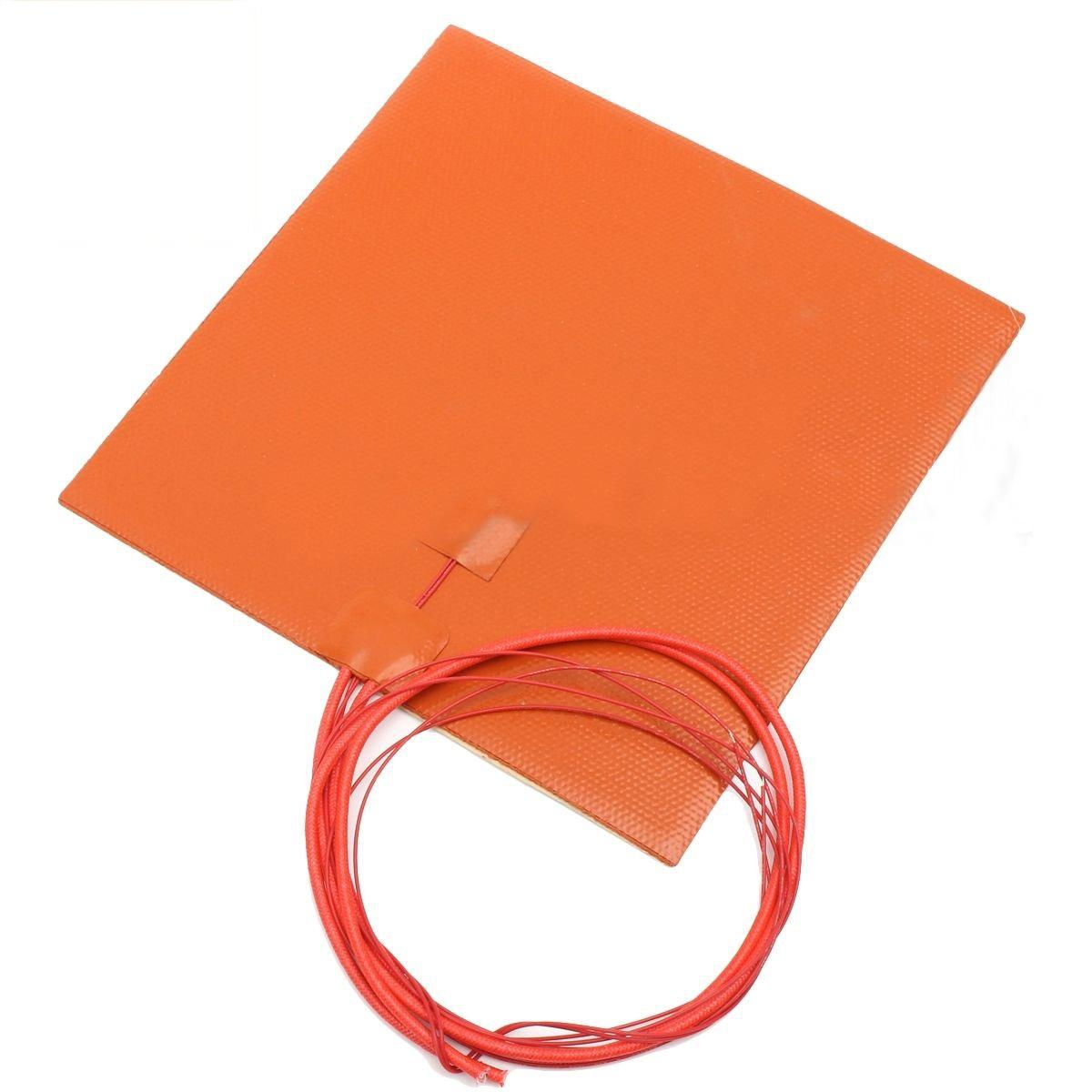 200*200mm 200w 12v Waterproof Silicone Heating Pads For 3D Printer