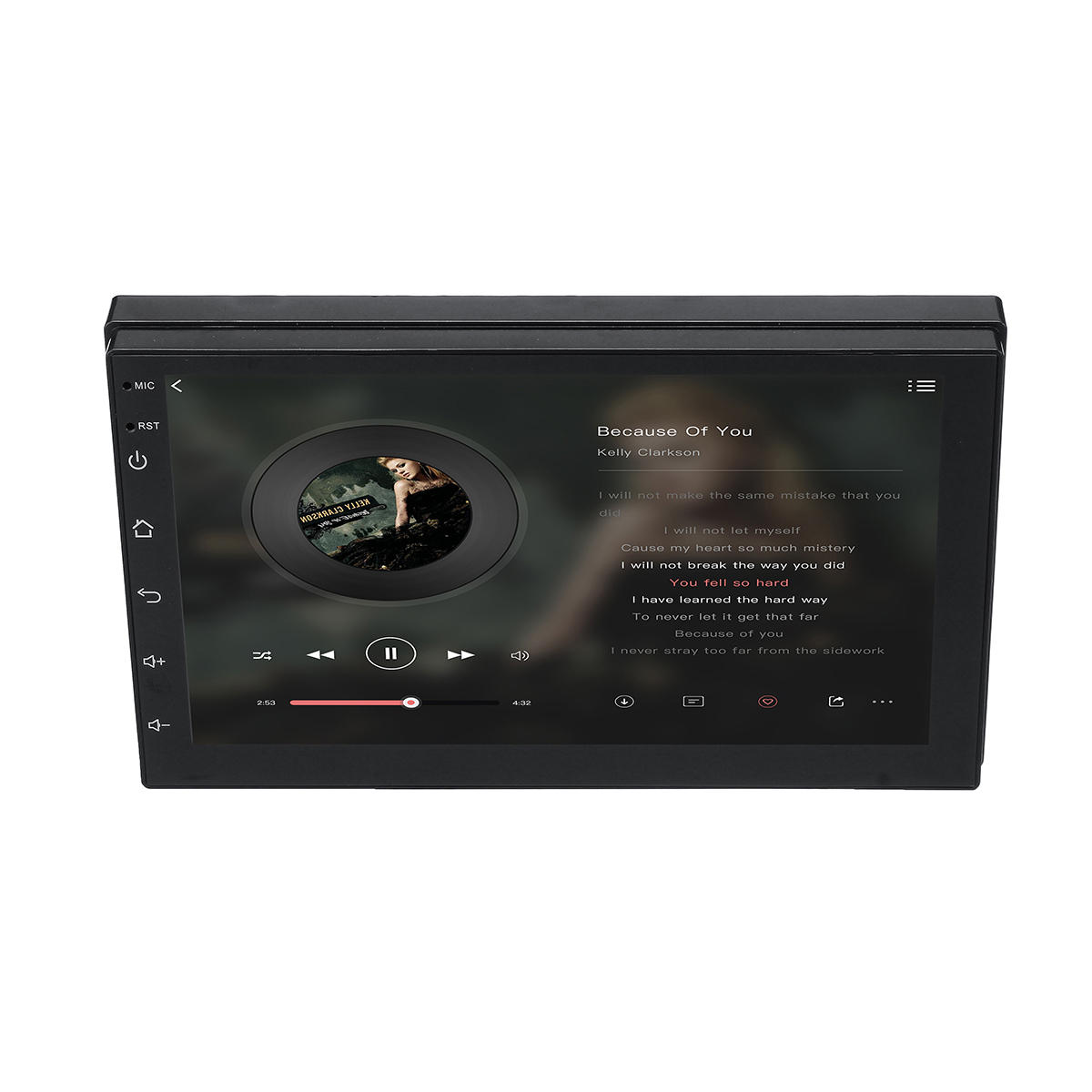 7 inch 2 DIN Android 8.1 WIFI GPS 1 + 16G Android auto MP5 speler
