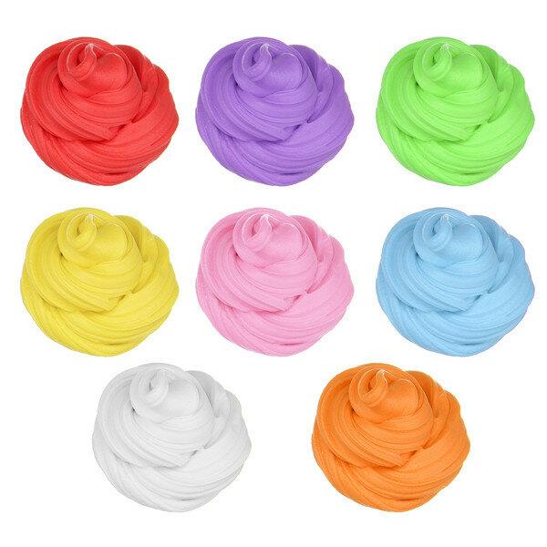 Candyfloss Пушистый слизь грязь шлам Клей-шпатлевка Освободить  стресс Подарок Игрушка для детей 8цвет
