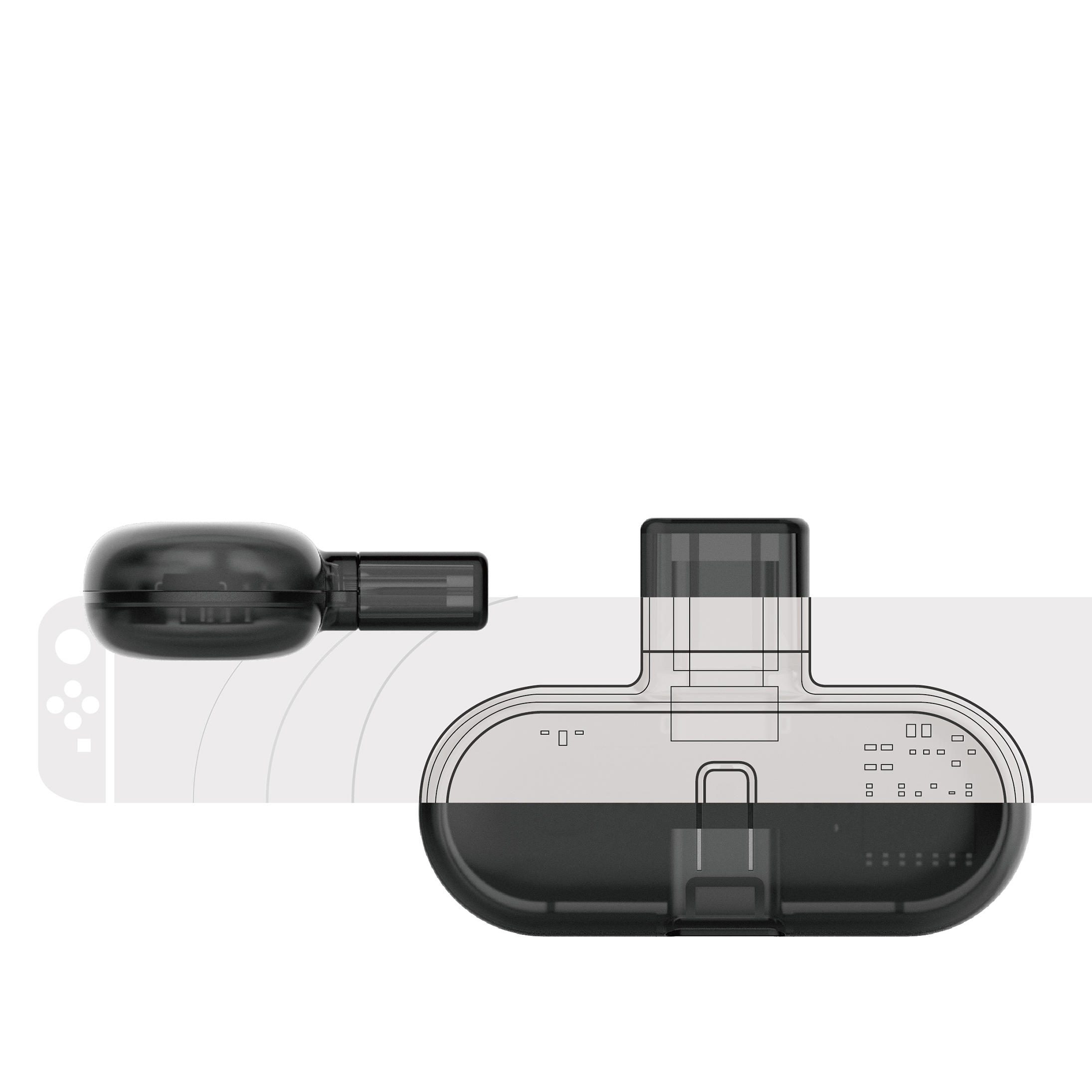 GuliKit ROUTE PRO bluetooth Audio USB Transmitter Converter Supported USB Type C / USB A Input