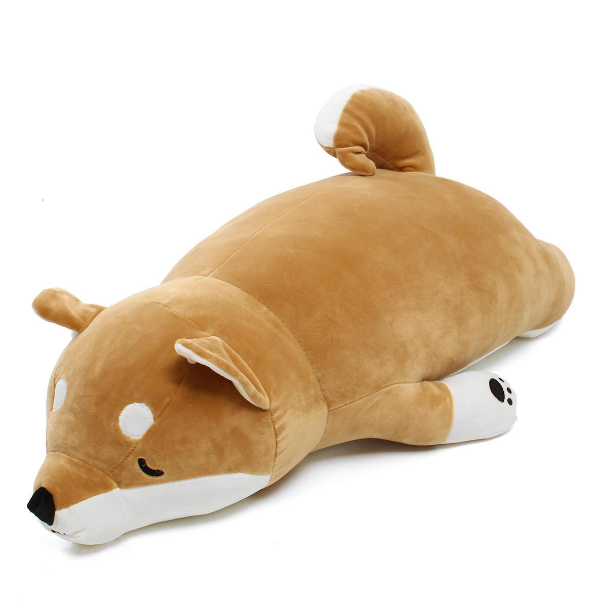 ジャンボ90センチメートルぬいぐるみぬいぐるみアニメ柴犬犬Softぬいぐるみピロークッション動物ペットドール