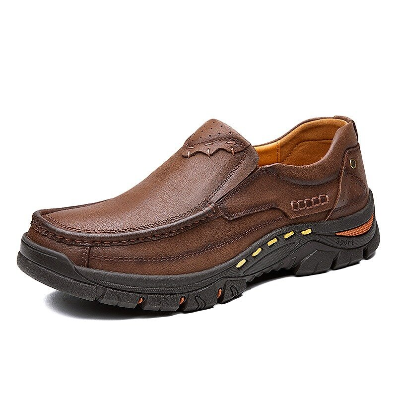 Men Soft Breathable Casual Hiking Slip On Loafers