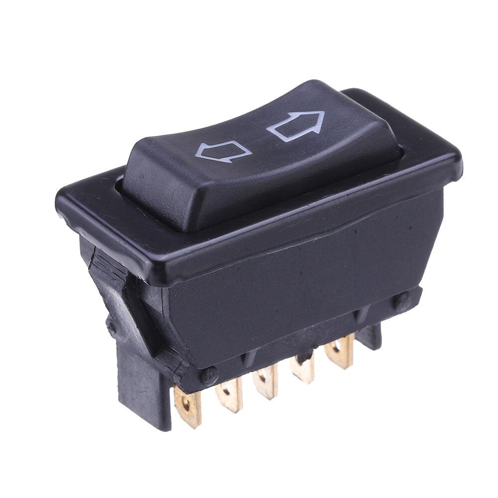 Plástico universal da CC 12V 20A dos pinos do interruptor de balancim 5 da janela de poder do carro de DPDT