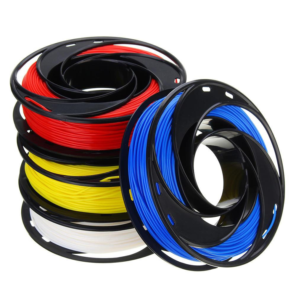 CCTREE® Синий + Белый + Желтый + Красный Набор 200 г / рулон 1,75 мм PLA Нить для 3D принтера Reprap