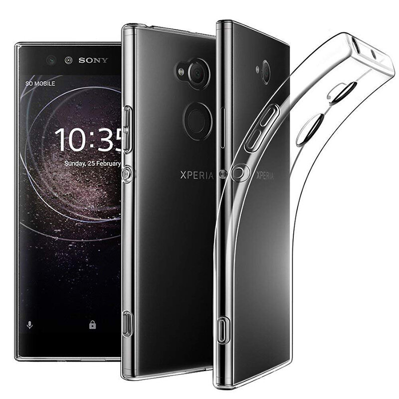 BAKEEY Transparent Ultra-thin Soft TPU Protective Case For Sony Xperia L2