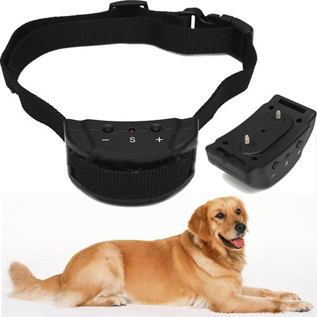Electric Shock Anti Barking Device No Barking Tone Shock Training Collar Training Pet Dog