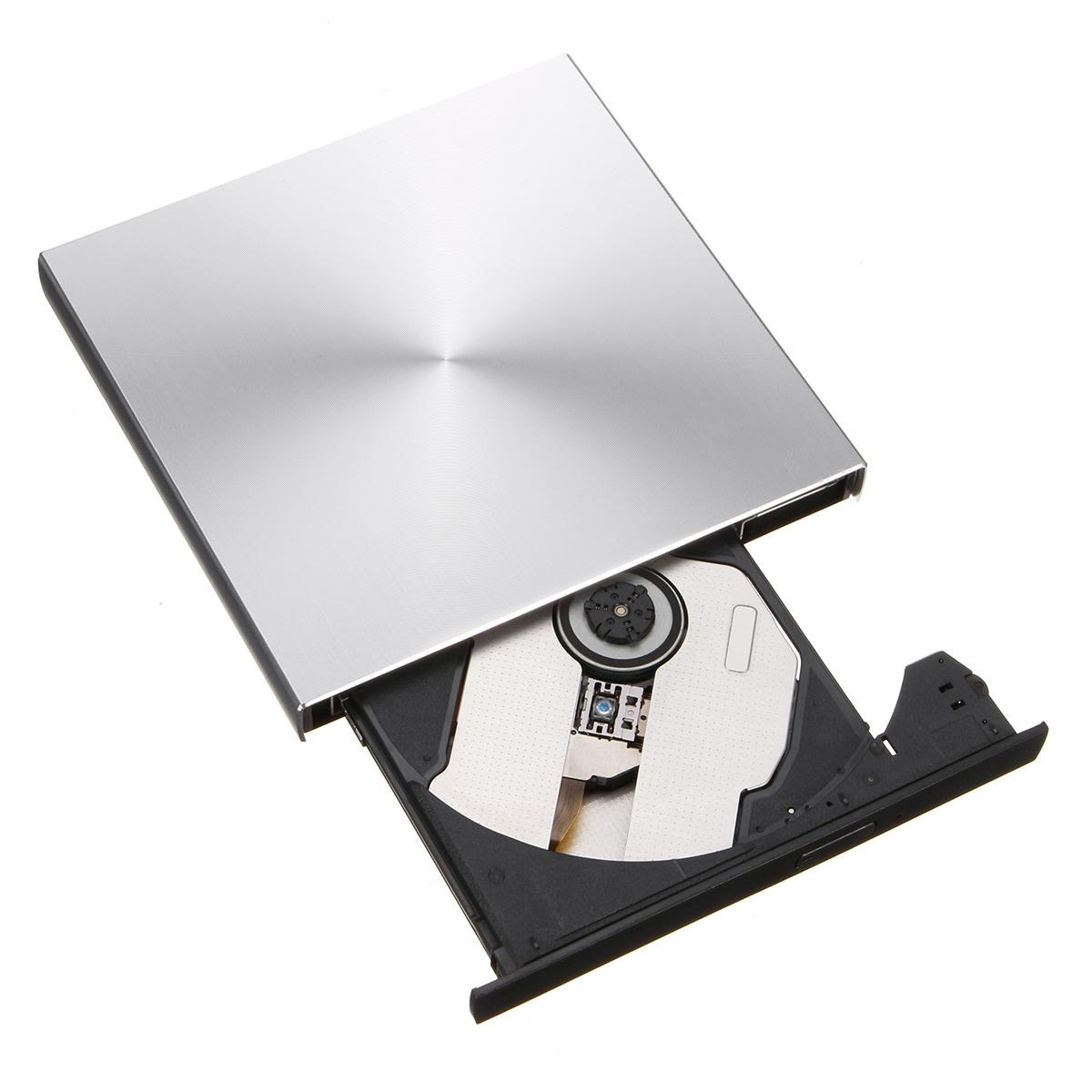 Портативный внешний Тонкий USB 3.0 Pop-Up DVD-RW / CD-RW Рекордер для рекордера с оптическим приводом