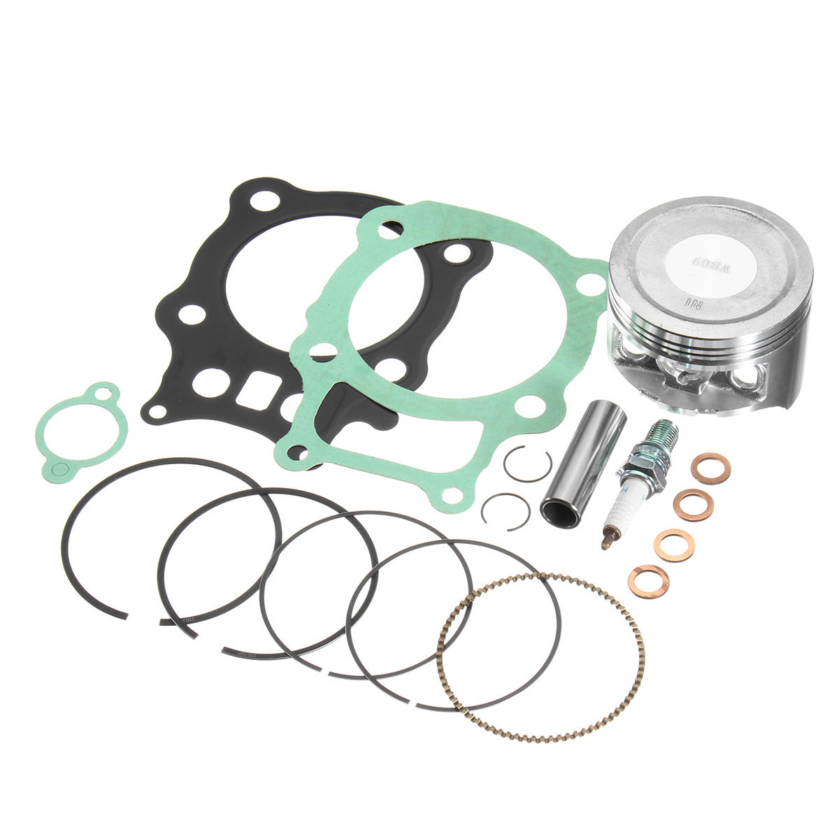 Honda Rancher Trx350 TRX 350 Piston Rings Gasket Kit Set Spark Plug 2000-2006