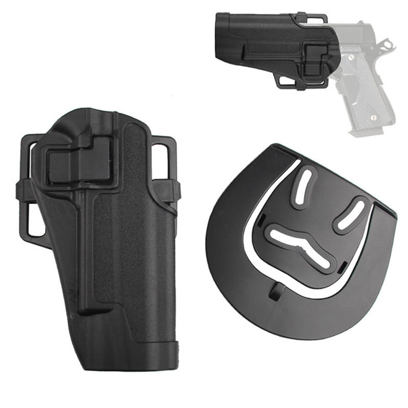Tactical Handgun Holster Right Hand Quickly Pull Outdoor Hunting UPS Waist Bag Holster