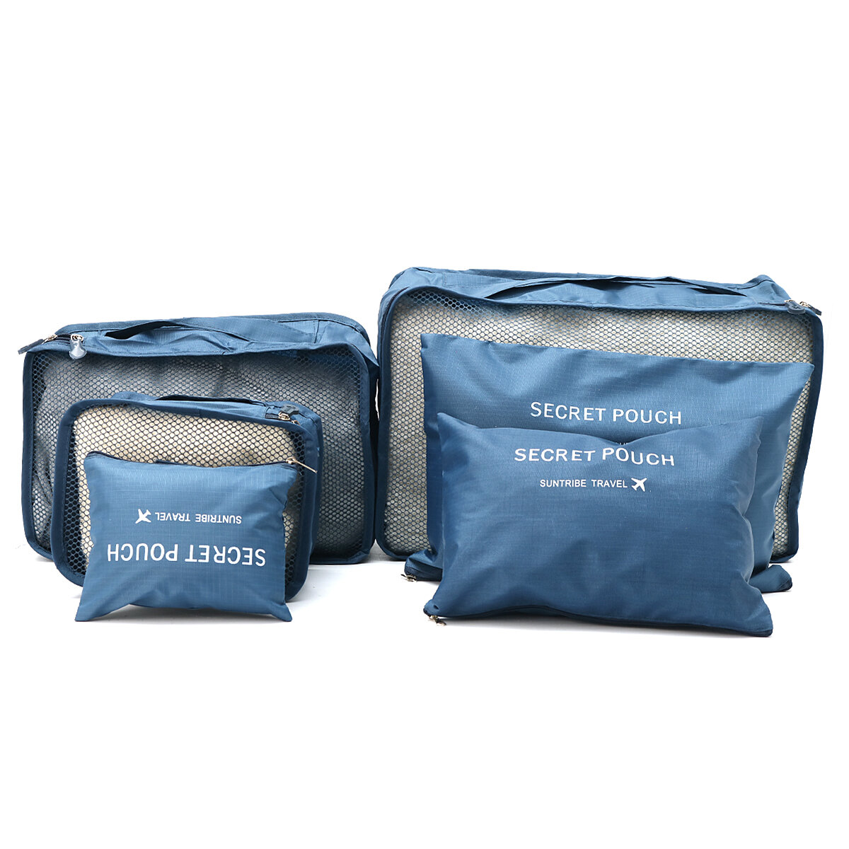 IPRee™ 6Pcs Travel Portable Storage Bag Set Clothes Packing Luggage Organizer Waterproof Pouch