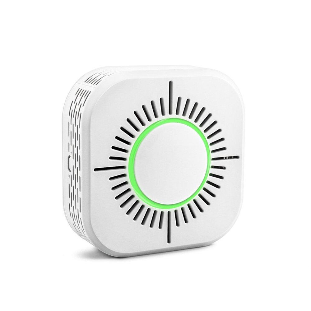 ホームオートメーションのための433MHz無線煙探知器火災セキュリティ警報保護スマートセンサーはSONOFF RFブリッジで動作します