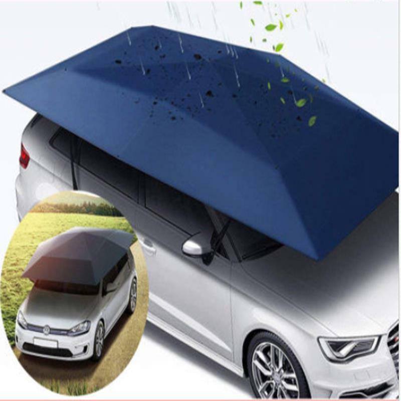 400 * 210 cm 210D Oxford Pano Abrigo Do Carro Guarda-chuva Tenda Telhado Sombra Tampa de Pano de Telhado À Prova D 'Água Anti UV