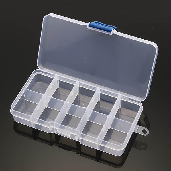 10/24 Grid Multifunctional Storage Box Adjustable Tool Case for Rotary Tool Accessories