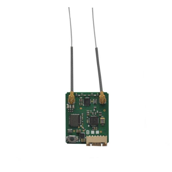MLR-82-B Long Range Micro Satellite Receiver Compatible With Futaba S-FHSS SBUS PPM Output