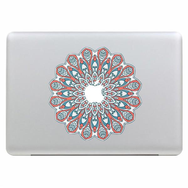 Peacock Fan Art Vinylaufkleber Etui Huelle Aufkleber Laptop Skin für Apple MacBook Air Pro