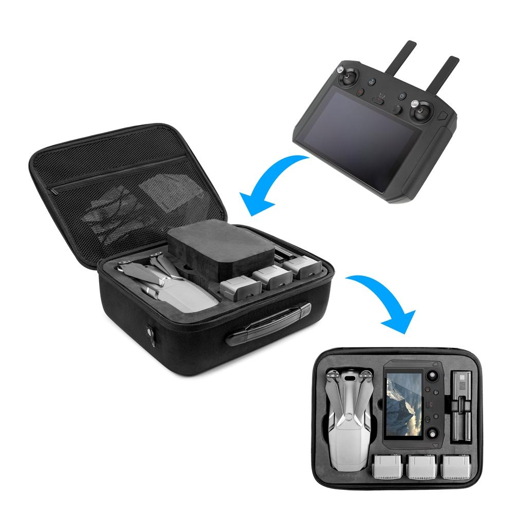 Hard Shell Waterproof EVA Storage Shoulder Bag Carrying Case Box Universal for DJI Mavic 2 PRO with Smart Controller