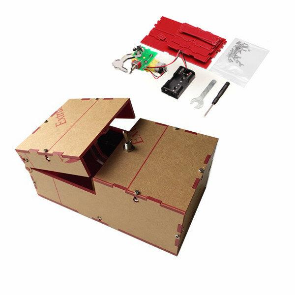 Useless Box Caixa Inútil DIY Kit Máquina Inútil Presente de Anviversário Brinquedo Geek Gadget Diversão Escritório Casa Mesa Decoração