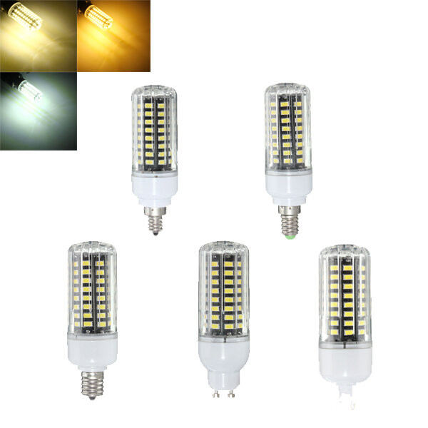E17 E14 E12 G9 GU10 7W 72 SMD 5730 LED Zuiver Wit Wit Wit Natuurwit Deksel Maaierlamp AC85-265V