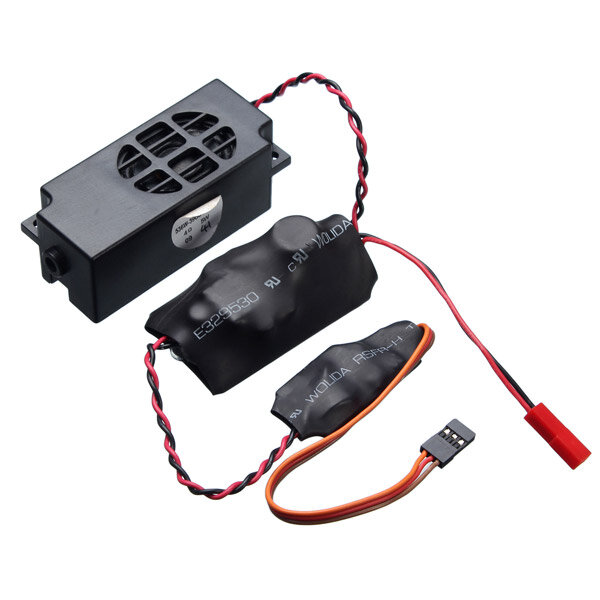 2Speaker RC Siren Whistle Sound Groups Simulation For RC Ship Whistle