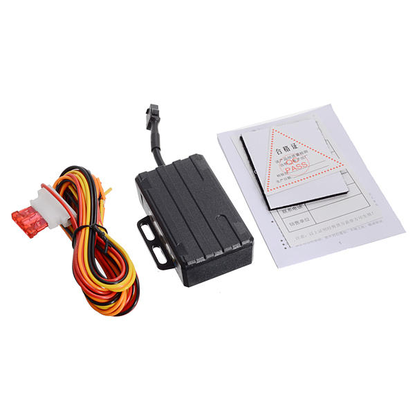 Car Vehicle Tracker Device GPS GSM SMS GPRS Waterproof Over Speed Alarm
