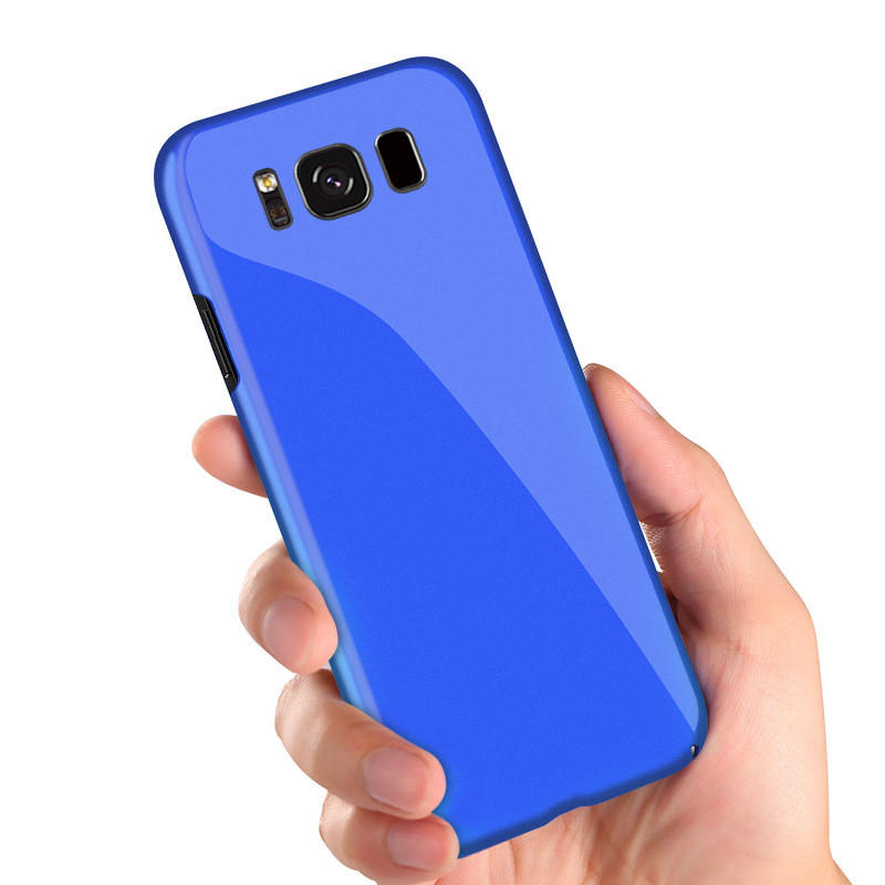 Bakeey Piano Paint Glossy Harde pc-beschermhoes voor Samsung Galaxy S8