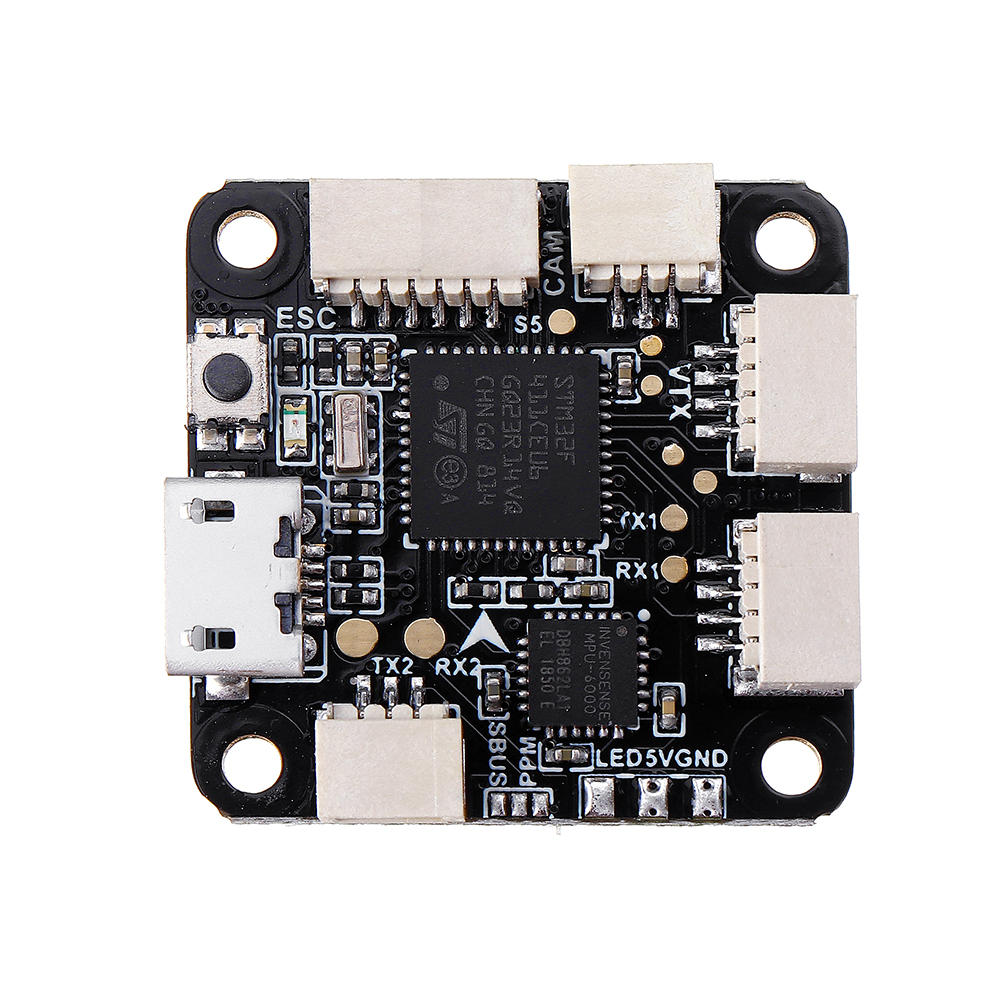 Eachine Wizard X140HV 140mm FPV Racing Drone Frame Spare Part Betaflight F4 Flight Controller OSD w/ 5V/1A BEC 20x20mm