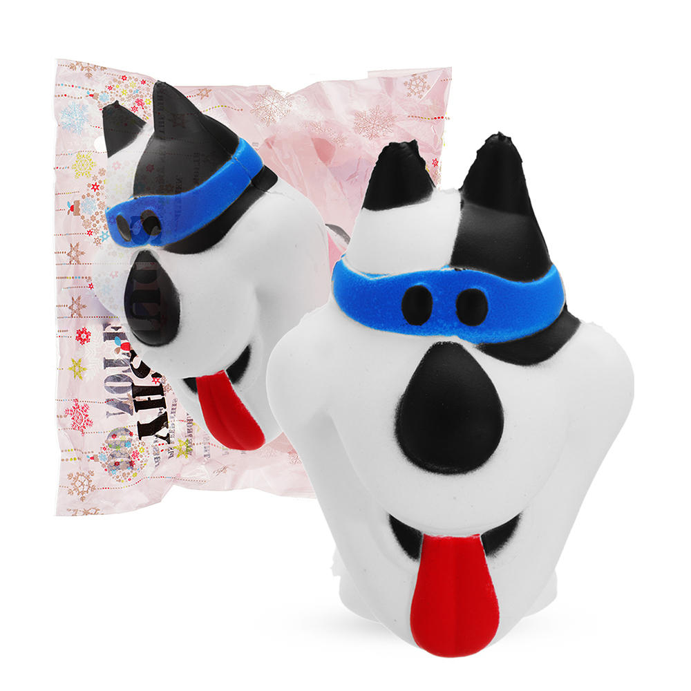 Puppy Dog Squishy 9.8*7.8CM Slow Rising Soft Toy Gift Collection With Packaging