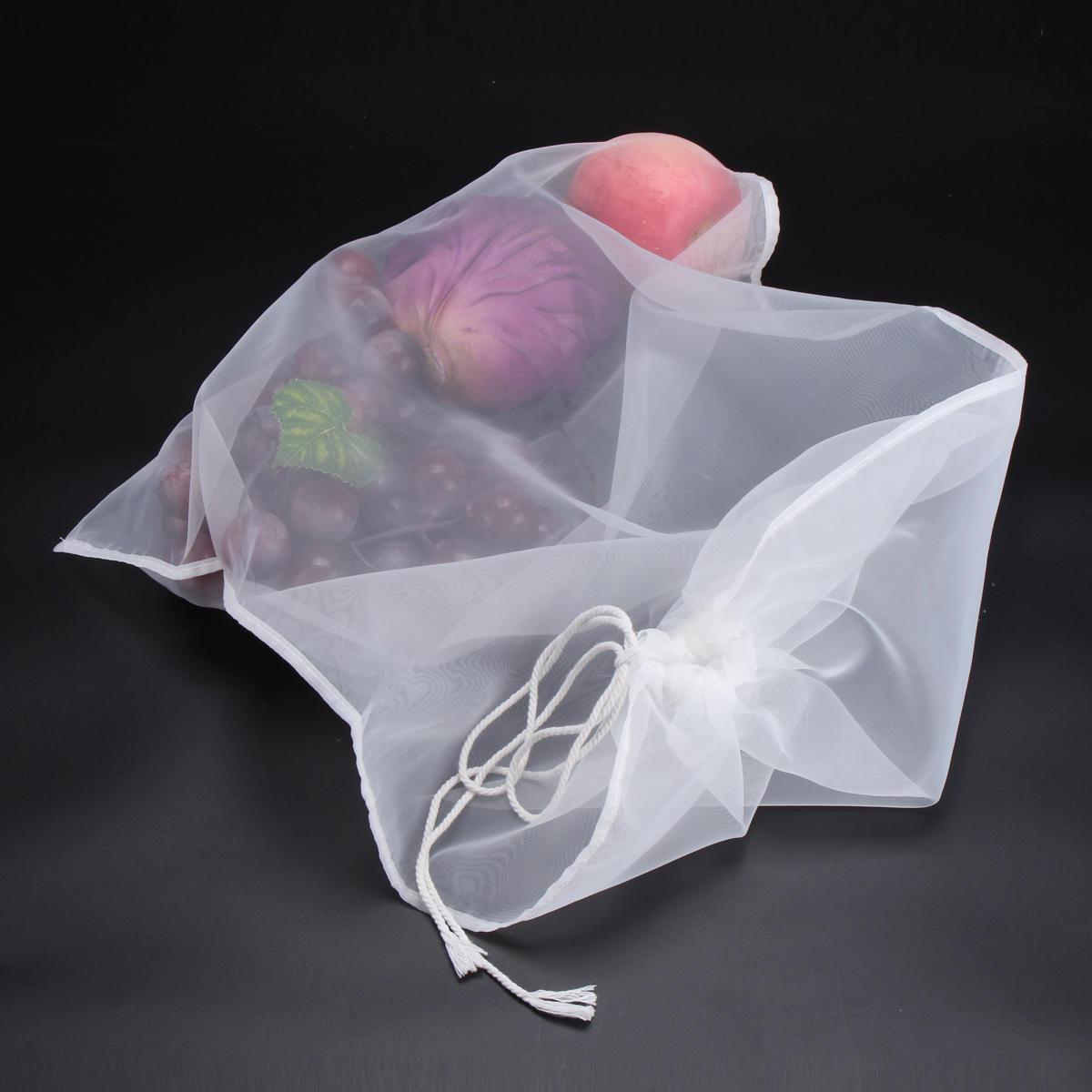 20*30/30*45/45*60cm 200 Mesh Reusable Straining Brewing Beer Net Bag Coffee Juice Filter Bag