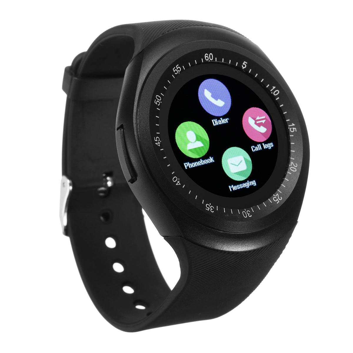 Y1 Smart bluetooth3.0 Watch Phone Band SIM Card Touch Screen Sport Bracelet