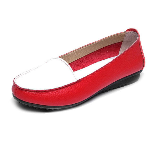 Moda Donna Autunno Appartamenti Slip On Soft Scarpe sole Anti Skid Mocassini