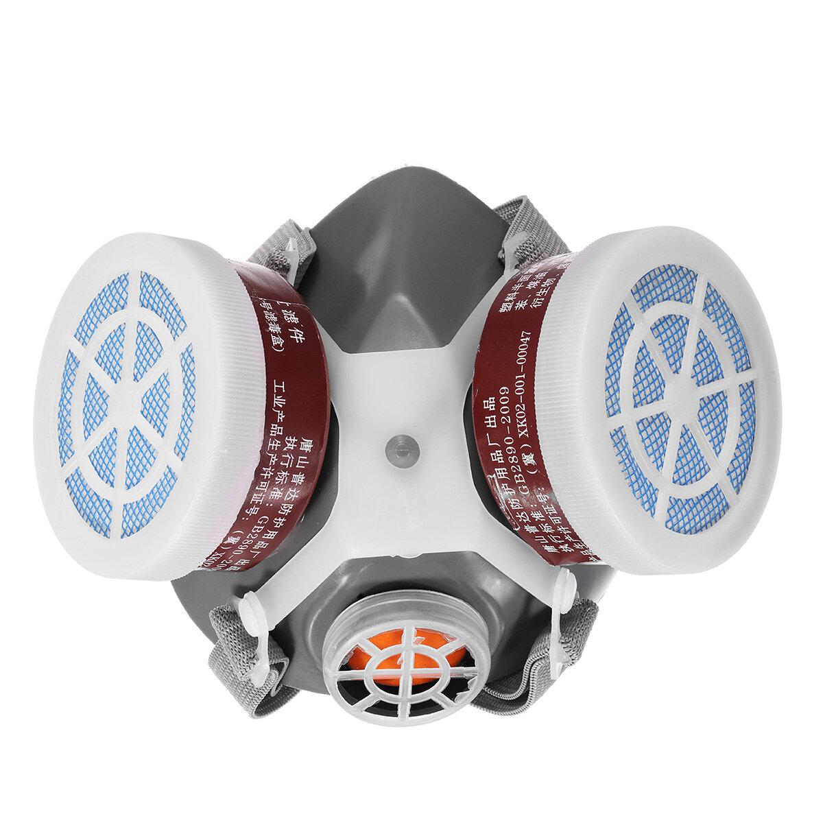 Segurança Respirador Gás Máscara Segurança Química Anti-Poeira Filtro Militar Local de Trabalho Segurança Proteção