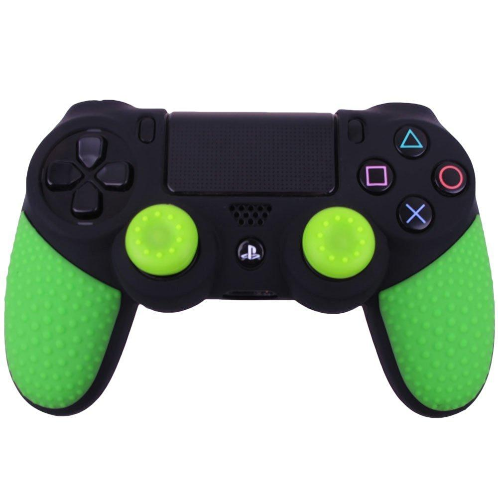 Gamepad Controller Hoes Hoes Beschermend Silicone Colorful Antislip voor Sony Playstation 4 PS4 Pro Slim