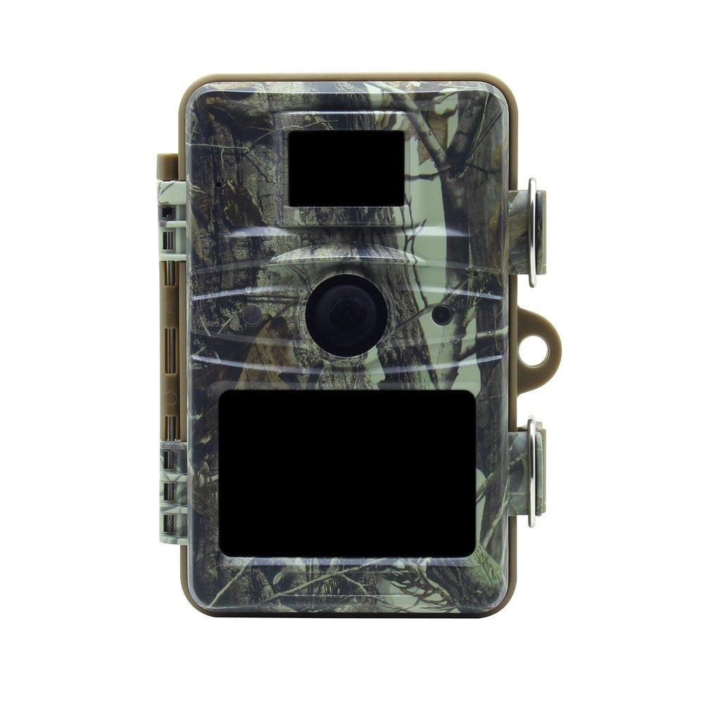 RD1005 IP66 Étanche Écran de 2,4 pouces TFT 12MP 1080P HD Caméra de chasse de piste de surveillance de la faune de vision nocturne avec microphone intégré