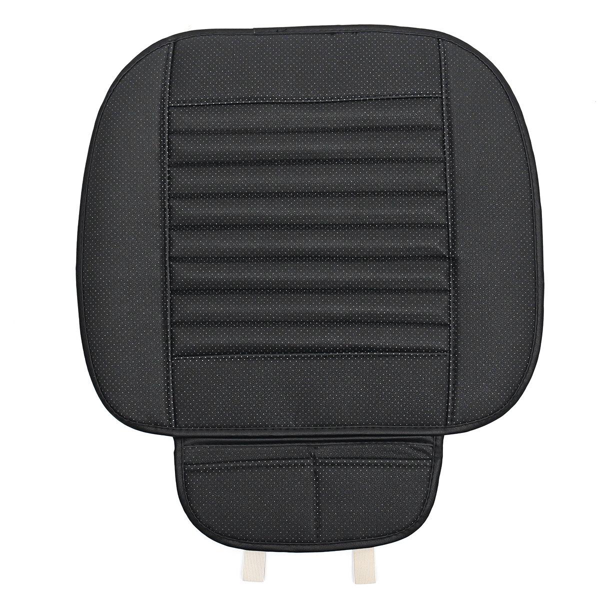 Voiture respirant PU cuir siège coussin Universal Auto avant chaise housse de siège Pad