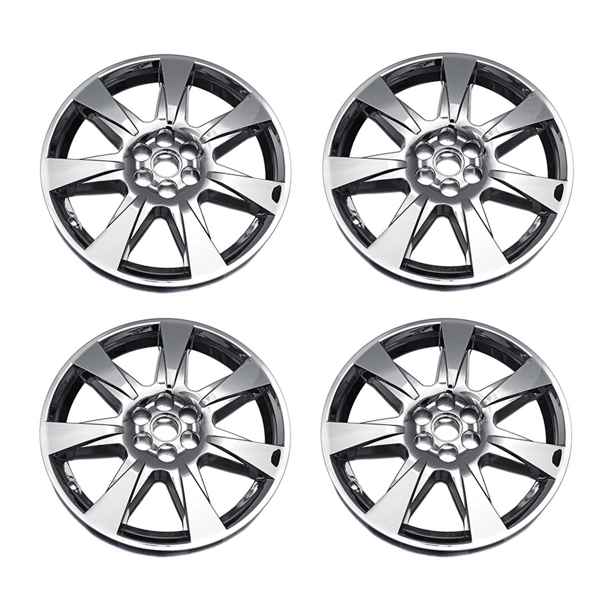 "4PCS Car 20"" Hubcaps Silver Double thickness Plating Cap Cover For Cadillac SRX 2010-2012 Auto Refit Accessorie"