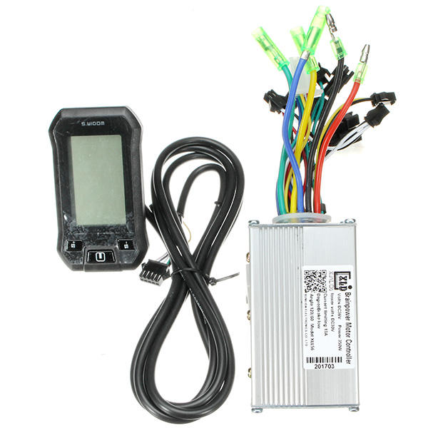 24/36/48V 350W Motor Brushless Speed Controller LCD Meter Electric BicyclE Mountain Bike Scooter
