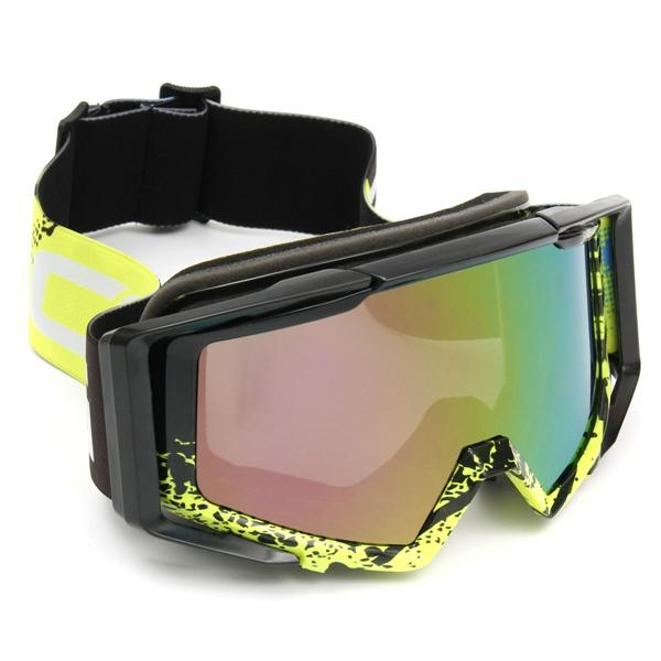 Motocross Goggles Helmet Windproof Glasses Sports Racing Cross Country Motorcycle Off Road ATV SUV