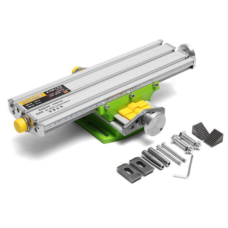 MINIQ BG6330 Mini Precisão Fresadora Worktable Multifunction Broca Vise Dispositivo Elétrico de Mesa De Trabalho