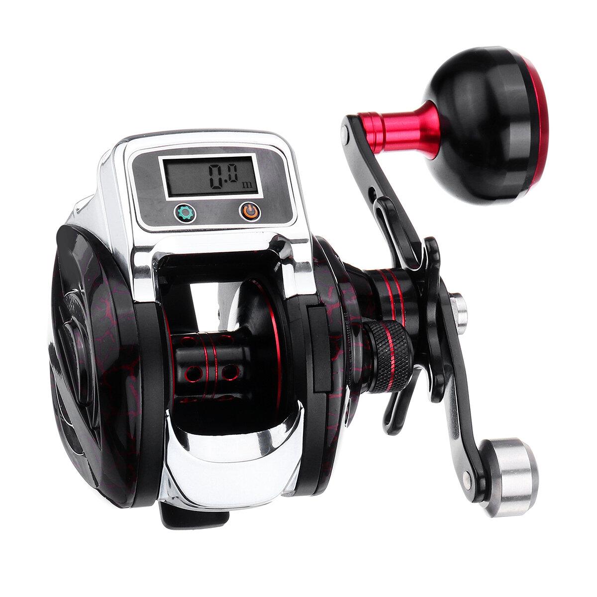 ZANLURE LS 3000 14+1BB 6.3:1 5kg Digital Display Fishing Reel