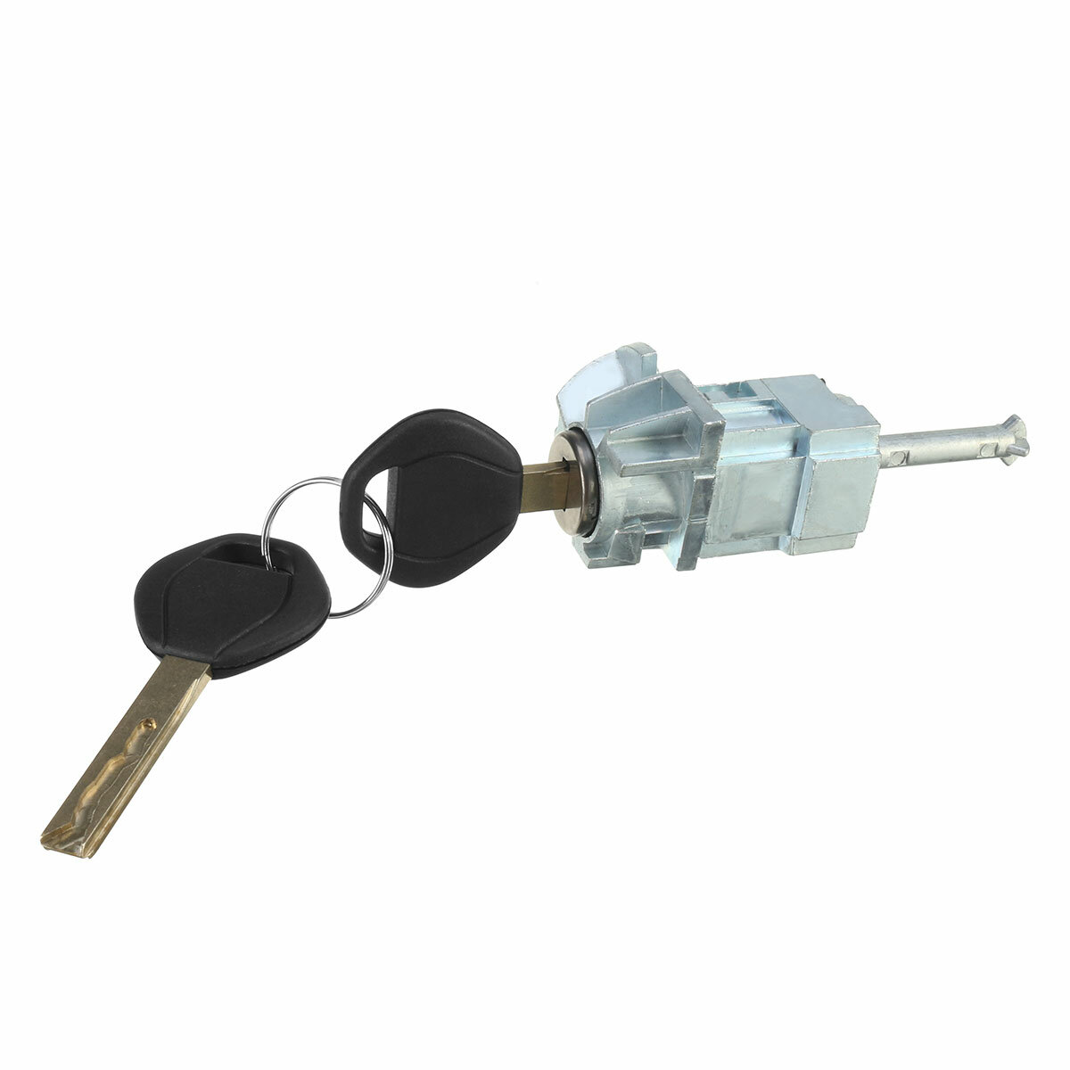 Left Driver Door Lock Cylinder Barrel Assembly with 2 Keys For BMW 3 Series E46 M3
