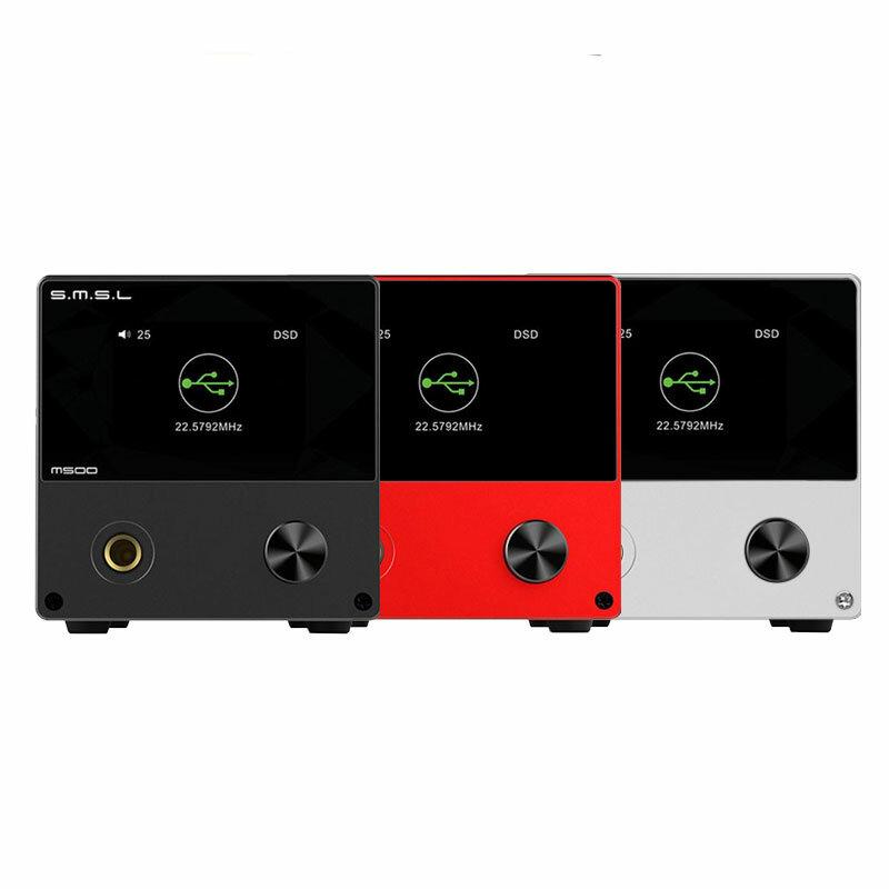 SMSL M500 DAC MQA ES9038PRO ES9311 XMOS XU-216 32bit 768kHz DSD512 Hi-Res Audio Decoder Headphone Amplifier