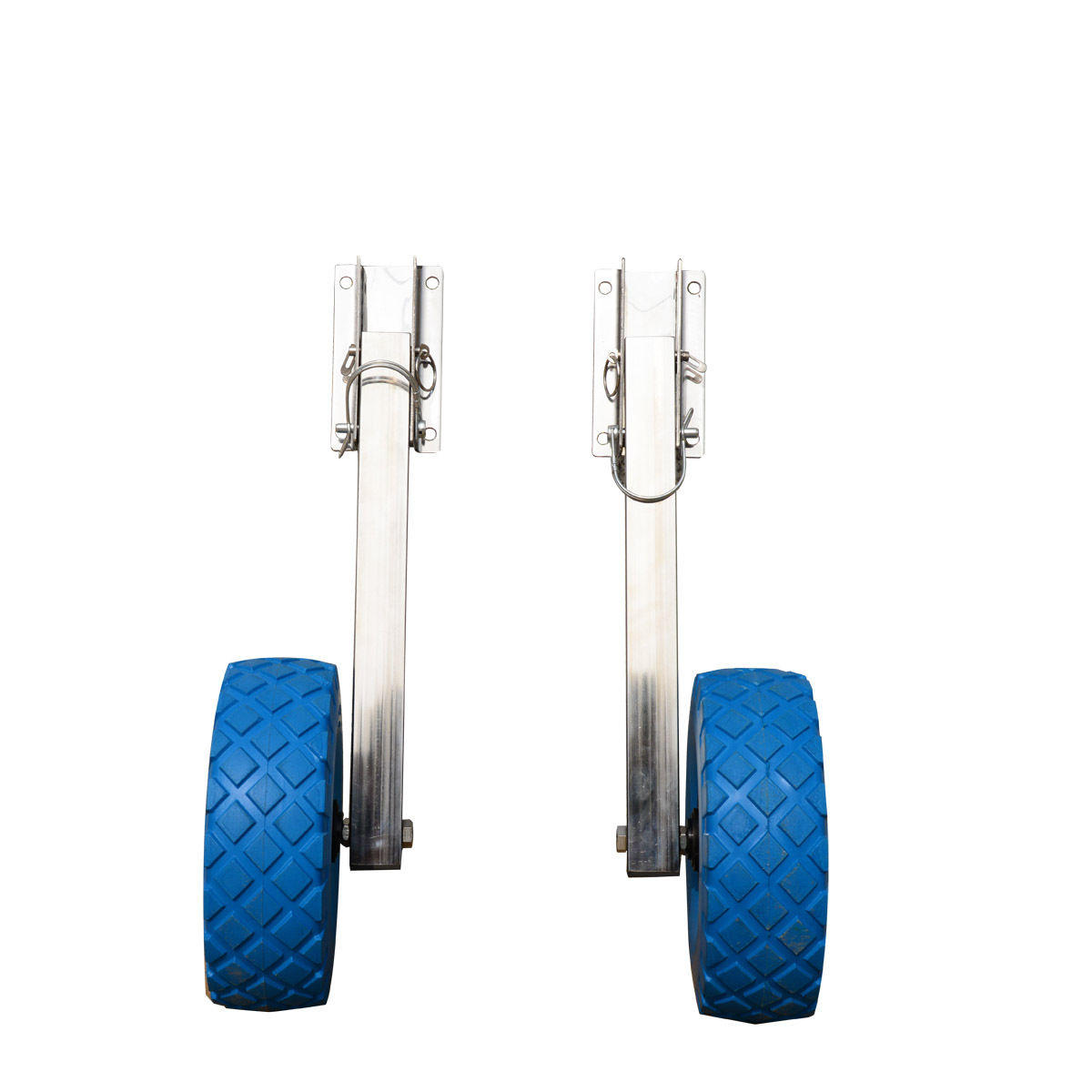 Stainless Steel Boat Transom Wheel Launching Dolly For Inflatable Boat