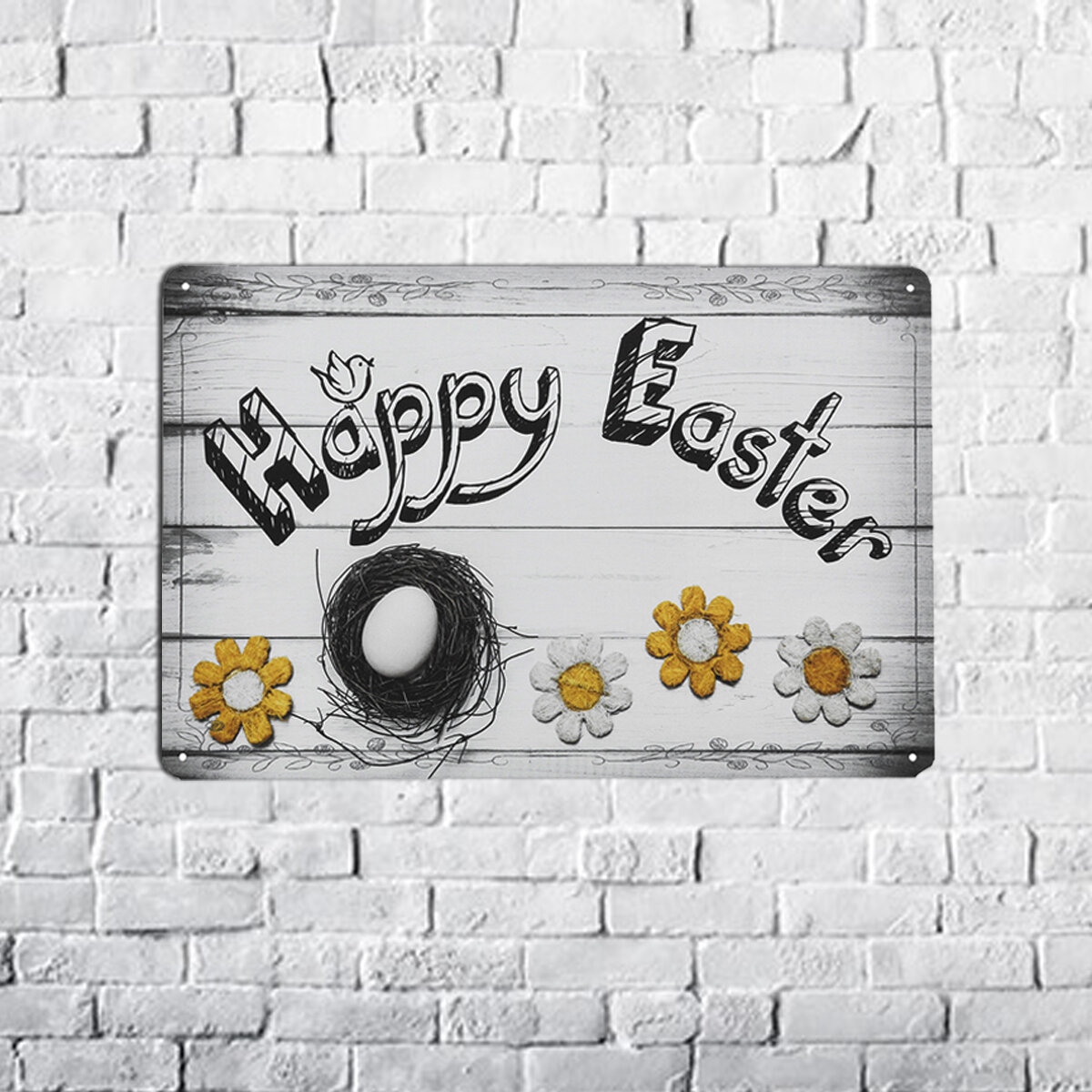 B55848 Iron Decorative Paintings Easter Decorative Painting European Style