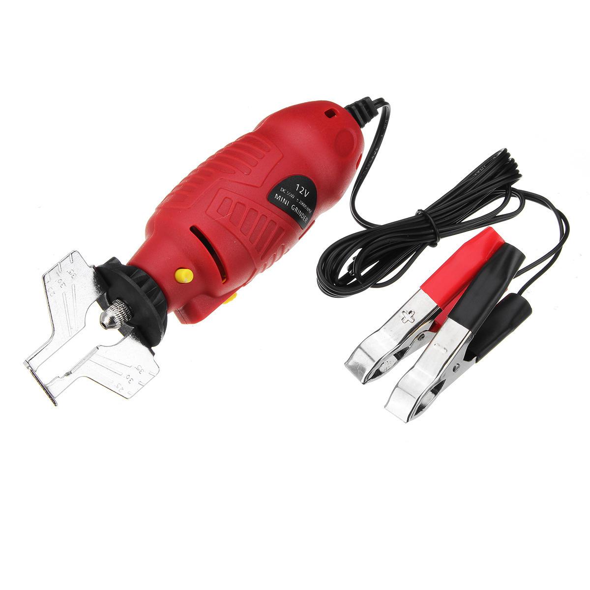 Grupo de arquivo Handheld elétrico das ferramentas do moedor do apontador da serra de cadeia 12V