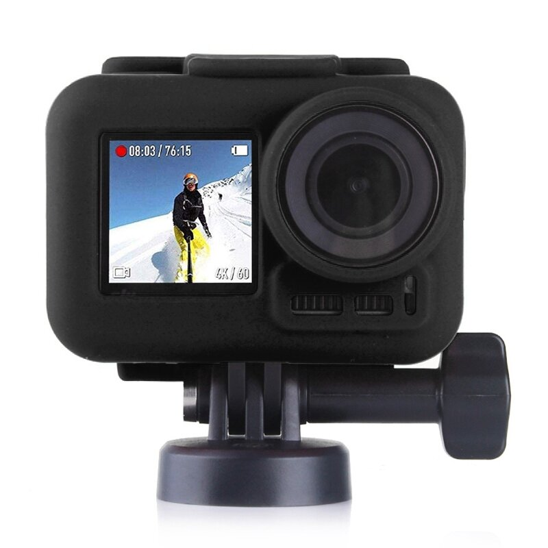 PULUZ PU334 Silicone Protective Case Cover for DJI OSMO Action Sports Camera