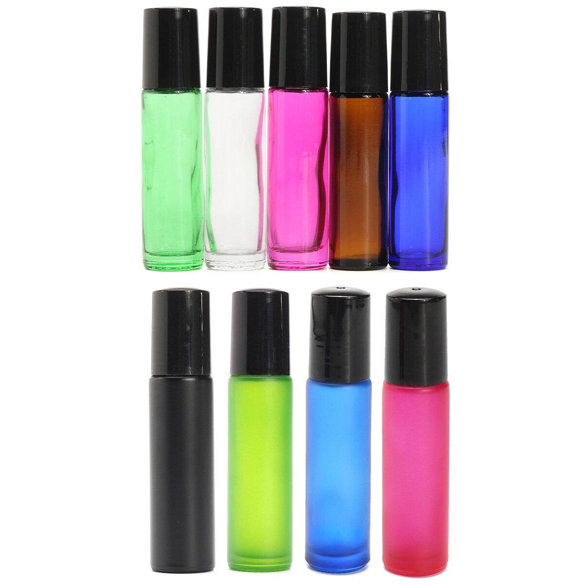 Rotolo glassato vuoto 10Pcs 10ml sulla sfera del rullo delle bottiglie di vetro per gli olii essenziali del profumo