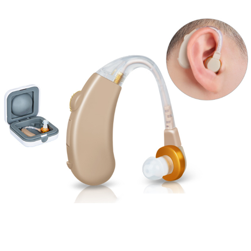 Battery Hearing Aids Amplifier Long Standby Earplugs for Patients with Mild to Moderate Hearing Loss