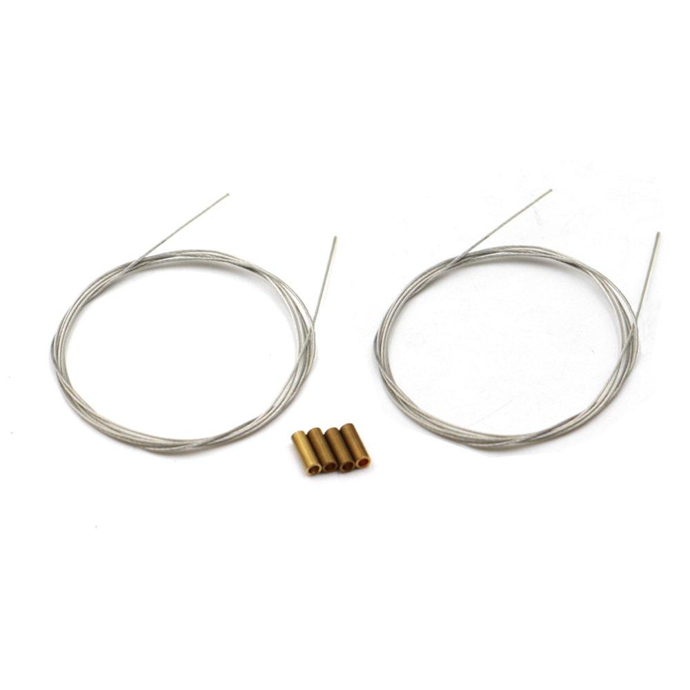 Diameter 0.4mm/0.6mm/0.8mm Soft Steel Wire 2m For RC Airplane Servo Push Rod Connecting Rod Accessories